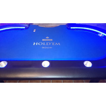 Mesa De Poker Con Luz Led