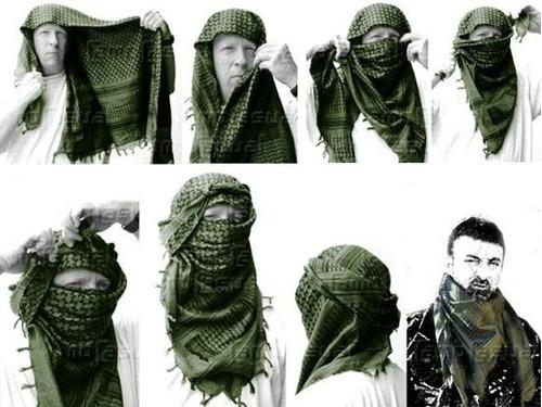 Shemagh, Bufanda Arabe, Turbante Militar Marca Rothco