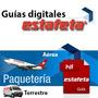 Guías Digitales Prepagadas Estafeta Aéreas 1 Día 1kg Urgente