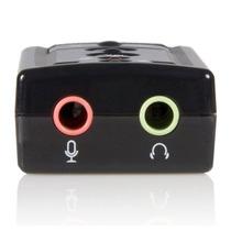 Tarjeta Sonido 7.1 Canales Adaptador Usb Audio Virtual 3d
