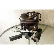 Camara Minolta Xg-1 Estuche, Disparador, Telefoto