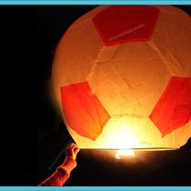 5 Globos De Cantoya Balon De Futbol Soccer