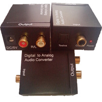 Convertidor De Audio Digital A Rca(analogo) Mdn
