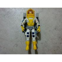 Gijoe Astronauta Payload Piloto Crusader Con Mochila Y Cable