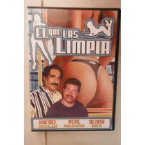 Mexico Pelicula El Que Las Limpia - Rafael Inclán Olivia Rex