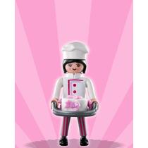 Playmobil 5244 Figura Serie 3 Cocinera #12 Retromex