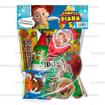 Cartón Para Bolsa De Dulces Dulceros Infantiles