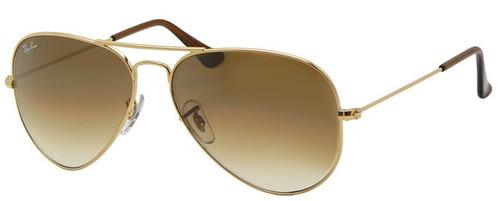 50c0a02b99805 Ray Ban Aviator Gota Rb 3025 001 51 Gold Gradient Grande 62  2195 ...