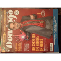 Revista Domingo Portadad Robert Downey Jr/iron Man De Colecc