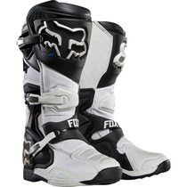 Botas Fox Comp 8 Blanca Mx 2016 Motocross Atv Talla 7