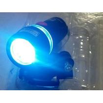 Luz Lámpara Delantera Para Bicicleta 5 Potentes Leds Blancos