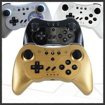 Control Pro Controller Wii/u Wiimote Y Classic 3 En 1