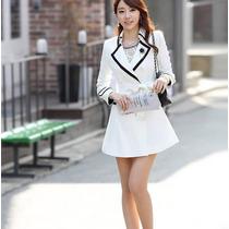 Saco Vestido Gabardina Elegante Primavera Envío Gratis