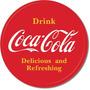 Coca Cola Boton Sim Vintage Retro Cartel Retro Lamina Poster