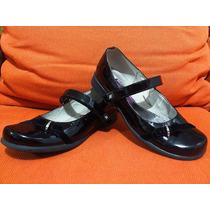 Increíbles Zapatos Mary-janes Mickey No.22 Niña Como Nuevos