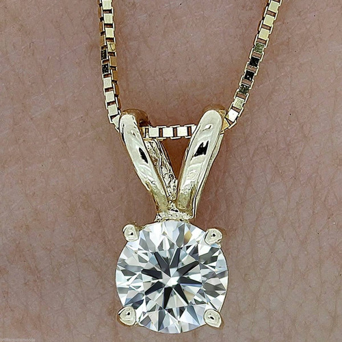 28a7e9cecaec Dije Oro 14k Diamante De Grafito 1.00 Cts Unisex
