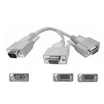 Cable Divisor De Video Splitter Conecta 2 Monitores A La Vez