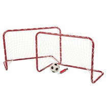 Mini Soccer Goal Set Brava 2 Mini Porterías Con Balon
