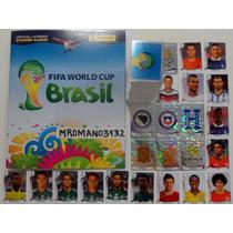 Album Panini Mundial Brasil 2014 // Completo //