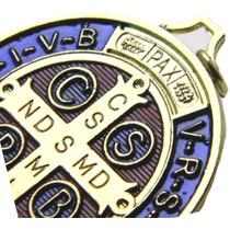 1 Medalla De San Benito Poderosa Bendecida En Italia Efetiva