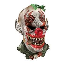 Mascara Payaso Fonzo Diabólico. Disfraz Halloween