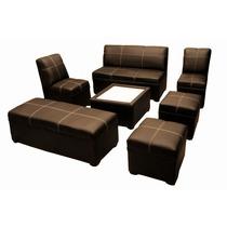 Sala Lounge Capitonada Minimalista Bar Antro Eventos Renta