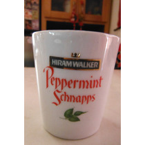 Vaso Shot Licor Hiram Walker Peppermint Schnapps U.s.a Bar