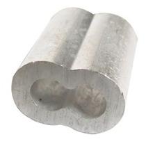 Casquillo Doble De Aluminio 1/2 Con 20 Pzas