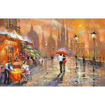 The Summer Cafe - Cuadros, Pinturas Al Oleo De Dmitry Spiros