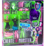 Monster High Set De Gata Y Bruja Crea Tu Monster Set Grande
