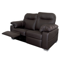 Sillon Reclinable Doble Reposet Salas Mobydec Muebles Mn4