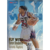 1996-97 Hoops Fly With Damon Stoudamire Raptors