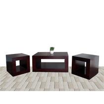 Mesas De Centro Minimalistas Sala Muebles El Angel Hm4