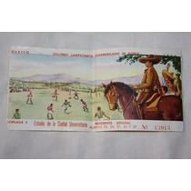 Futbol Boleto Campeonato Panamericano 1956, Jornada 3