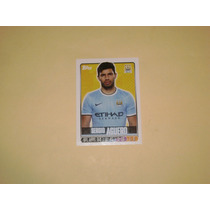 Estampa Sergio Kun Aguero Manchester City 2014 Topps