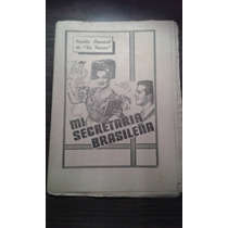 Novela Semanal Años 40 De La Prensa Mi Secretaria Brasileña