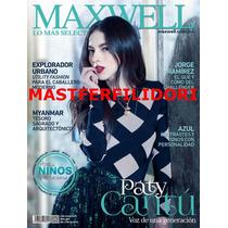 Paty Cantu Revista Maxwell Abril - Mayo 2016