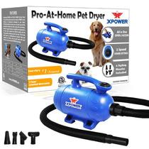 Secadora Profesional Para Mascotas Xpower 2 En 1 Vbf