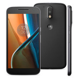 Motorola Moto G4 Dual Lte 5.5p16+2ram 13+5mpx Libre Negro