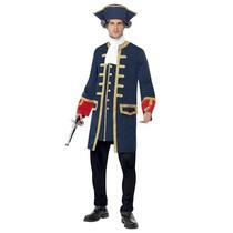 Disfraz De Pirata, Colonial Para Adultos, Envio Gratis