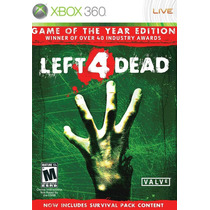 Left 4 Dead Game Of The Year Edition Nuevo Blakhelmet E
