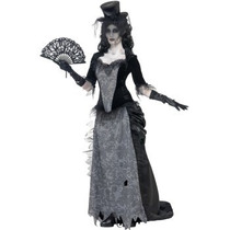 Disfraz De Fantasma, Muerte, Viuda Negra Para Damas