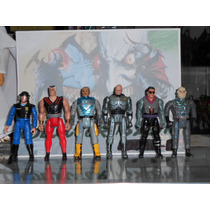 Robocop Animated Series Vintage Set De 6 Toy Island/kenner