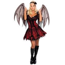 Disfraz De Diabla, Diablo Para Damas, Envio Gratis