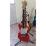 Fender  Jagstang Desing By Kurt Cobain Japan Candy Red