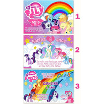 Invitaciones Mi Pequeño Pony Kit Imprimible My Little Pony