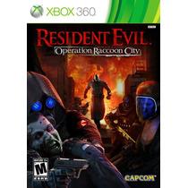 Resident Evil Operation Raccon City Usado Xbox360 Blakhelmet