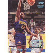 1997-98 Fleer Tiffany Collection Laphonso Ellis Nuggets