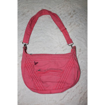 Old Navy Bolsa Hobo Canvas Color Coral