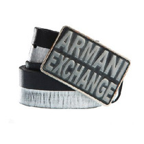 Cinturón Armani Exchange 2 Tonos Talla 32 Original